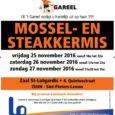 VK 't Gareel organiseert zijn 35e jaarlijkse mossel- en steakkermis om de nodige werkmiddelen te kunnen financieren. Spelers, leden en bestuur nodigen u graag uit voor de editie van 2016 […]