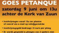 """Vk 't Gareel organiseert naar ondertussen jaarlijkse gewoonte """"Gareel Goes Petanque"""", een recreatief petanquetornooi op de petanquebanen achter de Kerk van Zuun te Sint-Pieters-Leeuw. Alle petanque liefhebbers worden verwacht op […]"""